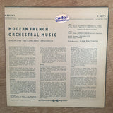 Jean Martinon, Orchestre Des Concerts Lamoureux ‎– Modern French Orchestral Music - Vinyl LP Record - Opened  - Good+ Quality (G+) - C-Plan Audio