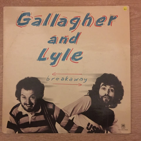 Gallagher And Lyle ‎– Breakaway - Vinyl LP Record - Opened  - Very-Good+ Quality (VG+)