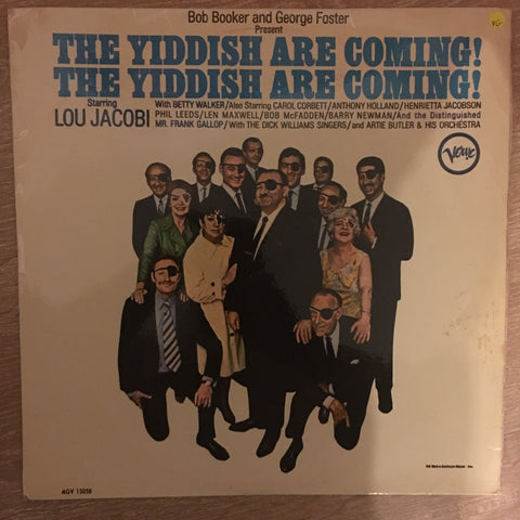 The Yiddish Are Coming - Vinyl LP Record Album - Opened  - Very-Good Quality (VG)