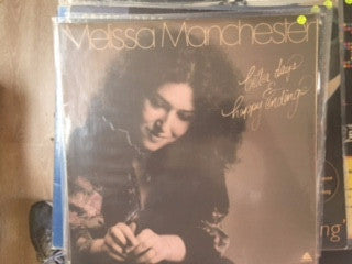 Melissa Manchester ‎– Better Days & Happy Endings - Vinyl LP - Opened  - Very-Good+ Quality (VG+) - C-Plan Audio