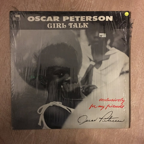 Oscar Peterson - Girl Talk - Vinyl LP Record - Opened  - Very-Good+ Quality (VG+)