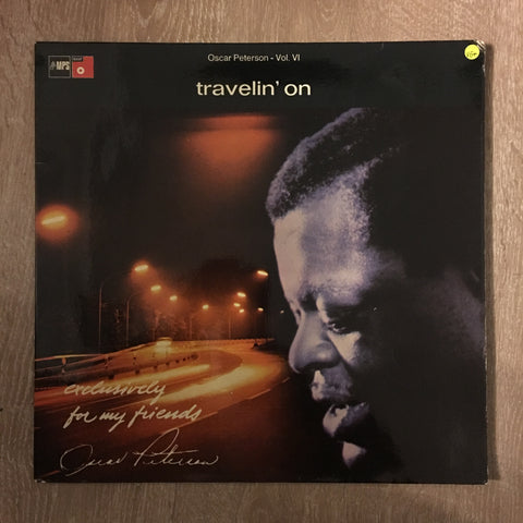 Oscar Peterson - Travelin' On - Vinyl LP Record - Opened  - Very-Good+ Quality (VG+)