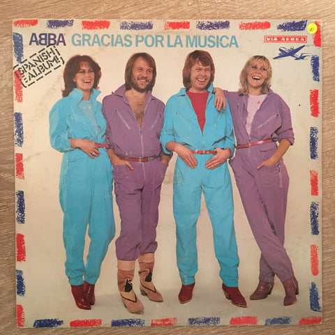 ABBA  (Spanish Album) ‎– Gracias Por La Musica - Vinyl LP Record - Opened  - Very-Good Quality (VG)
