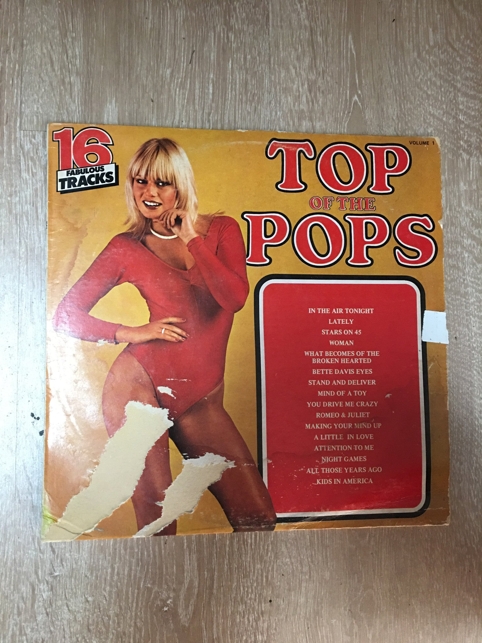 Top of the Pops - Vol. 1 - Vinyl LP - Opened - Very-Good Quality (VG)