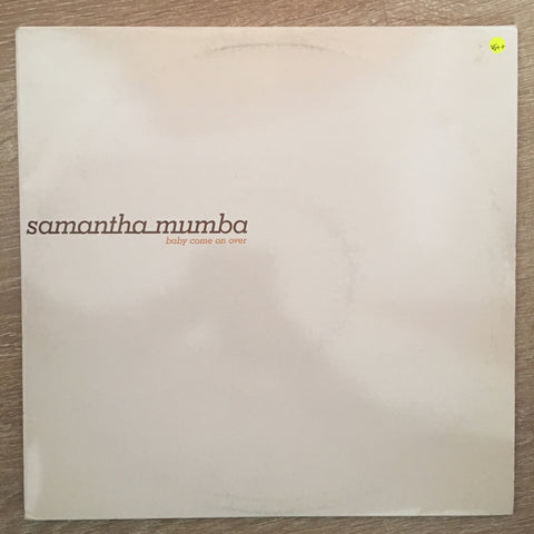 Samantha Mumba ‎– Baby Come On Over  - Double Vinyl Record - Very-Good+ Quality (VG+)