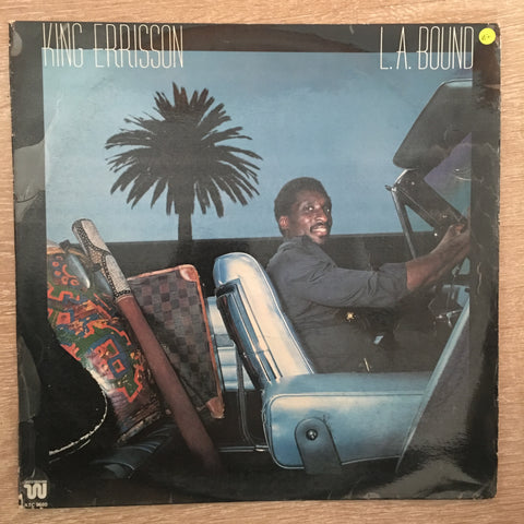 King Errisson ‎– L.A. Bound -  Vinyl LP Record - Very-Good+ Quality (VG+)