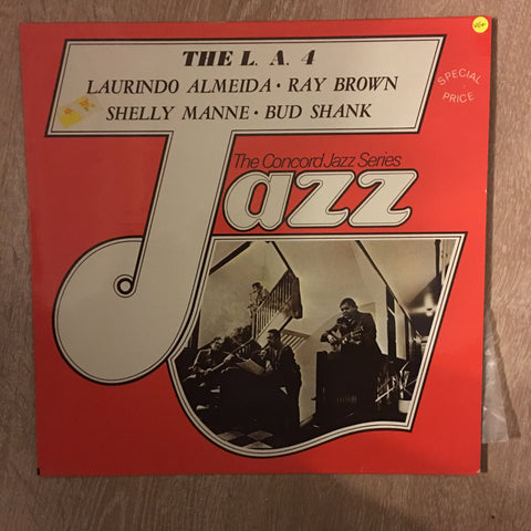 The L.A. 4 - Concorde Jazz Series - Vinyl LP Record - Opened  - Very-Good+ Quality (VG+)
