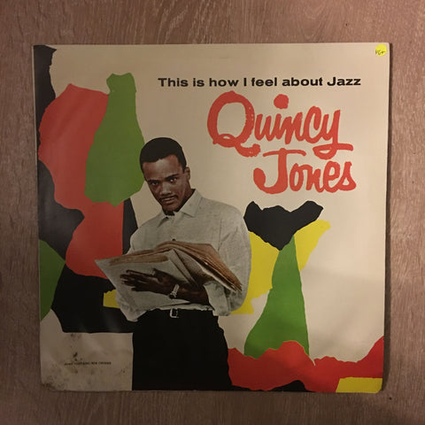 Quincy Jones - This Is How I Feel About Jazz - Vinyl LP Record - Opened  - Very-Good+ Quality (VG+)