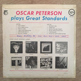 Oscar Peterson Plays Great Standards - Vinyl LP Record - Opened  - Very-Good Quality (VG) - C-Plan Audio