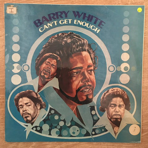 Barry White - Can't Get Enough -  Vinyl LP Record - Very-Good+ Quality (VG+)