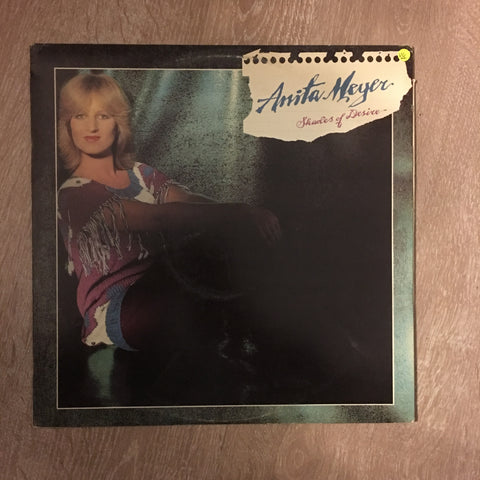 Anita Meyer - Shades Of Desire - Vinyl LP Record - Opened  - Very-Good+ Quality (VG+)