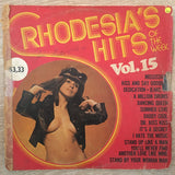 Rhodesia's Hits of The Week Vol 15 - Vinyl LP Record - Opened  - Good Quality (G) - C-Plan Audio