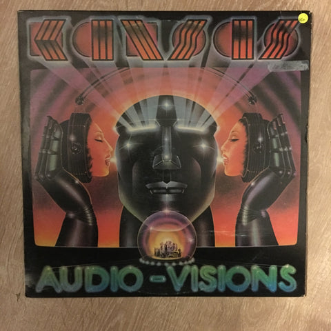 Kansas - Audio-Visions - Vinyl LP Record - Opened  - Very-Good+ Quality (VG+)