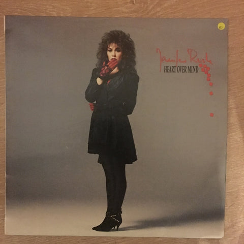 Jennifer Rush - Heart Over Mind - Vinyl LP Opened -  - Very-Good+ Condition (VG+)