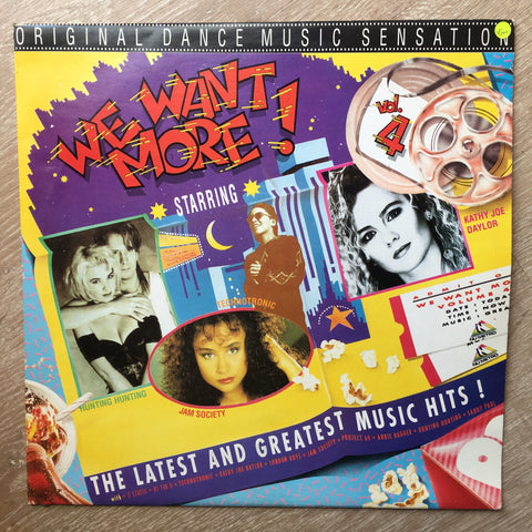 We Want More - Vol 4 -  Vinyl LP Record - Very-Good+ Quality (VG+)