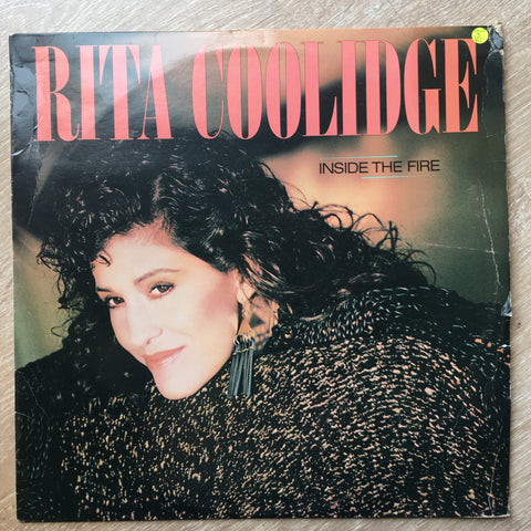 Rita Coolidge - Inside The Fire - Vinyl LP Record - Opened  - Very-Good Quality (VG)