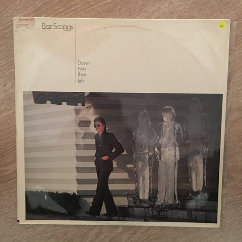 Boz Scaggs - Down Two Then Left - Vinyl LP Record - Opened  - Very-Good Quality (VG)