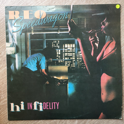 REO Speedwagon - Infidelity - Vinyl LP Record - Opened  - Fair Quality (F)