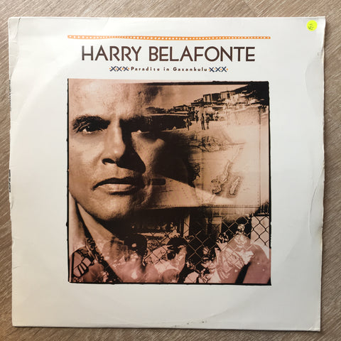 Harry Belafonte ‎– Paradise In Gazankulu  - Vinyl LP Record - Opened  - Very-Good- Quality (VG-)