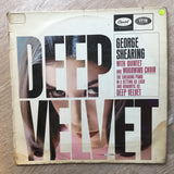 George Shearing - Deep Velvet -  Vinyl LP Record - Very-Good+ Quality (VG+) - C-Plan Audio