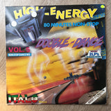 High Energy Double Dance Vol 5 - Double Vinyl LP Record - Opened  - Very-Good Quality (VG) - C-Plan Audio