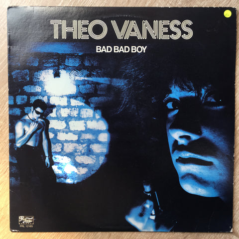 Theo Vaness - Bad Bad Boy - Vinyl LP Record  - Opened  - Very-Good+ Quality (VG+)