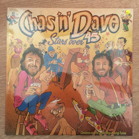 Chas 'n Dave - Stars Over 45 - Vinyl LP - Sealed - C-Plan Audio