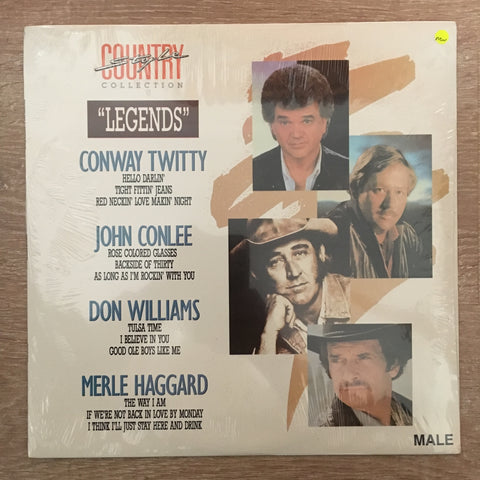 Country Collection - Vinyl LP - Sealed - C-Plan Audio