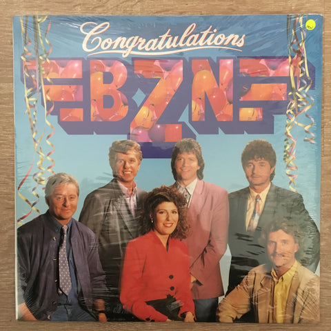 BZN - Congratulations - Vinyl LP - Sealed - C-Plan Audio