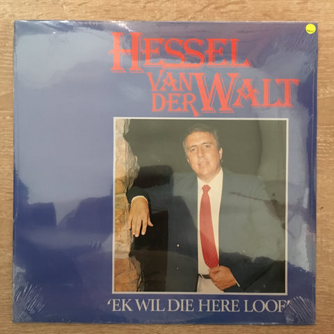Hessel Van Der Walt - I will die here loof - Vinyl LP - Sealed