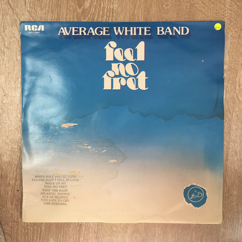Average White Band - Feel No Fret  - Vinyl LP Record - Opened  - Good+ Quality (G+)