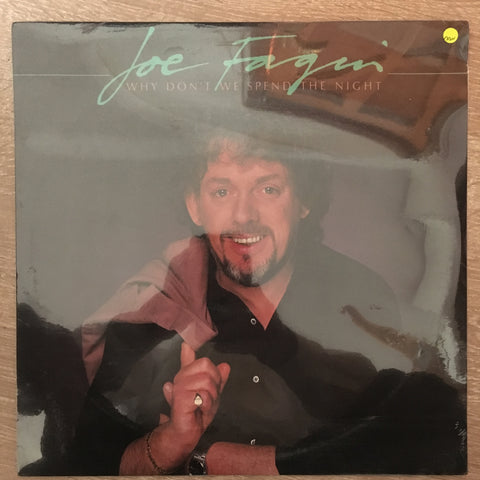 Joe Fagin - Why Don't We Spend The Night  - Vinyl LP - Sealed - C-Plan Audio