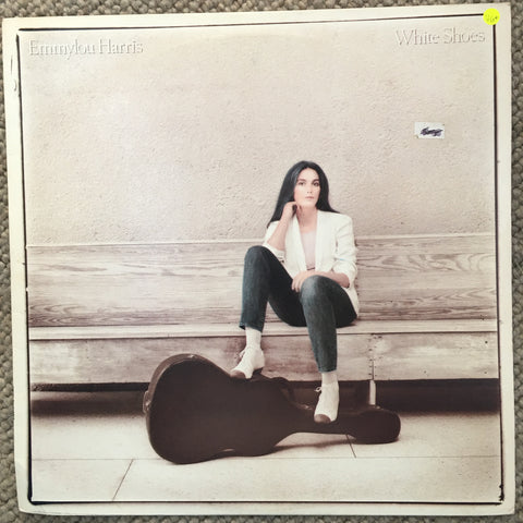 Emmylou Harris ‎– White Shoes - Vinyl LP Record  - Opened  - Very-Good+ Quality (VG+) - C-Plan Audio