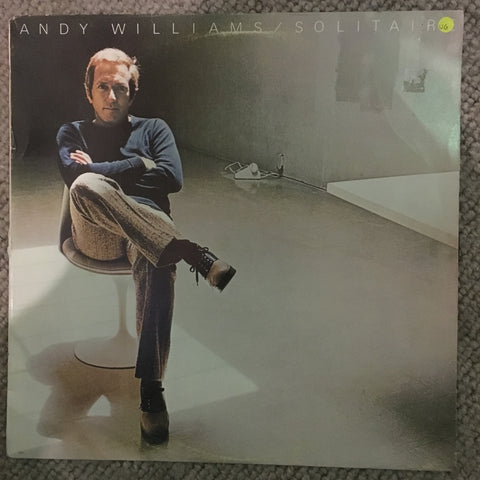 Andy Williams - Solitaire - Vinyl LP Record - Opened  - Very-Good Quality (VG)