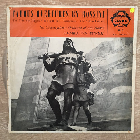 Rossini - Orchestra Of Amsterdam conducted by Eduard van Beinum - Vinyl LP Record - Opened  - Good+ Quality (G+)