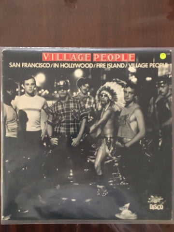 Village People ‎– San Francisco / In Hollywood / Fire Island  - Vinyl LP - Opened  - Very-Good+ Quality (VG+) - C-Plan Audio