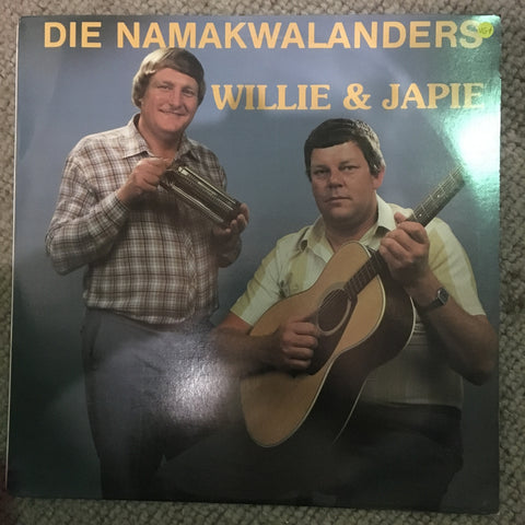 Die Namakwalanders - Willie & Japie - Vinyl LP Record  - Opened  - Very-Good+ Quality (VG+)