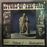 Doctors Of The Past - Shakespeare Vol 1 - Vinyl LP Record - Opened  - Very-Good- Quality (VG-) - C-Plan Audio