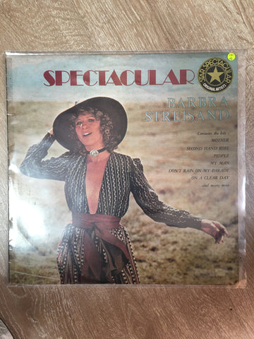 Barbara Streisand - Spectacular  - Vinyl LP - Opened  - Very-Good Quality (VG)