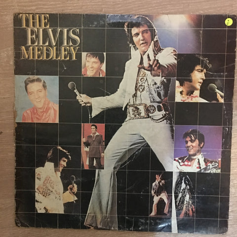 The Elvis Medley - Vinyl LP Record - Opened  - Good Quality (G)