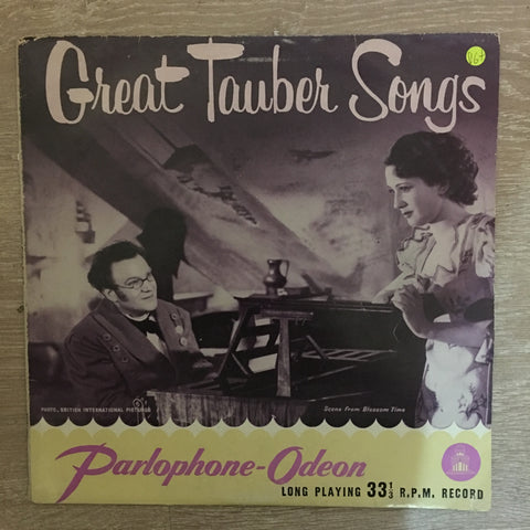 Great Tauber Songs - Vinyl LP Record  - Opened  - Very-Good+ Quality (VG+) - C-Plan Audio