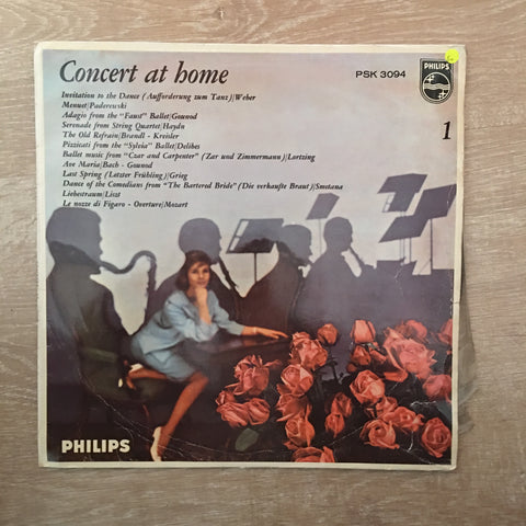 Concert At Home -  Vinyl LP Record - Opened  - Good+ Quality (G+)