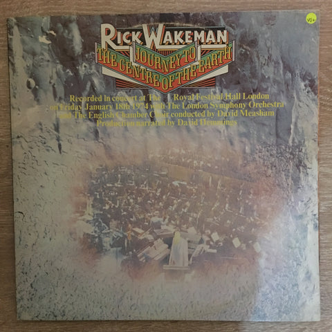 Rick Wakeman - Journey to the Centre of the Earth  - Vinyl LP - Opened  - Very-Good+ Quality (VG+) - C-Plan Audio