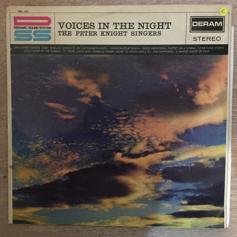 The Peter Knight Singers ‎– Voices In The Night - Vinyl LP Record - Opened  - Very-Good- Quality (VG-) - C-Plan Audio