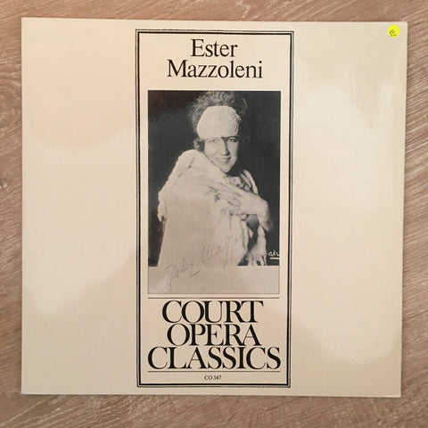 Court Opera Classics - Ester Mazzoleni - Vinyl LP Record - Opened  - Very-Good+ Quality (VG+)