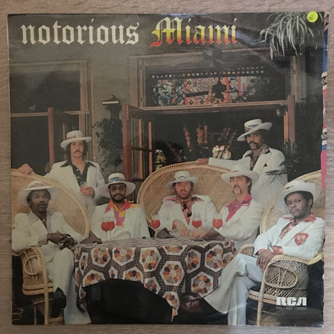 Miami ‎– Notorious Miami - Vinyl LP Record - Opened  - Very-Good- Quality (VG-)