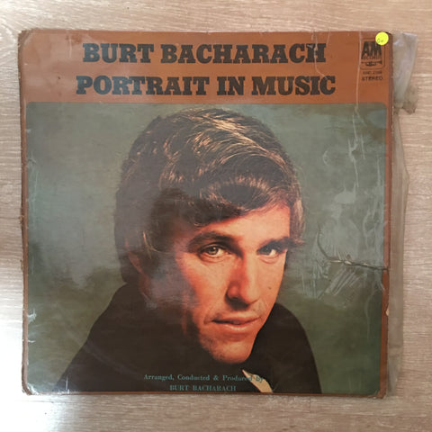 Burt Bacharach - Portrait In Music-  Vinyl LP Record - Opened  - Good+ Quality (G+)