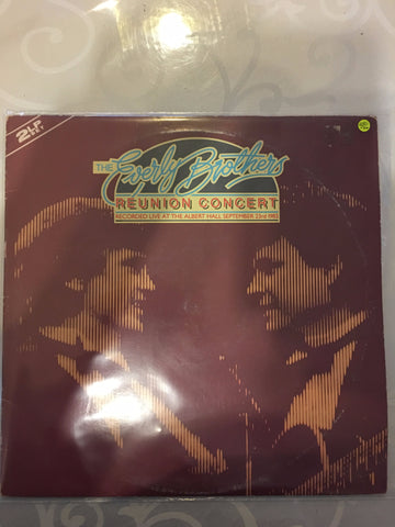 The Everly Brothers - Reunion Concert  - Double Vinyl LP - Opened  - Very-Good+ Quality (VG+) - C-Plan Audio