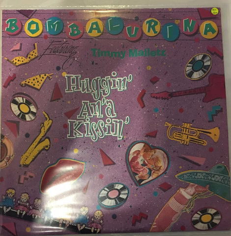 Bombalurina Featuring Timmy Mallett ‎– Huggin' An'a Kissin' - Vinyl LP - Opened  - Very-Good+ Quality (VG+)