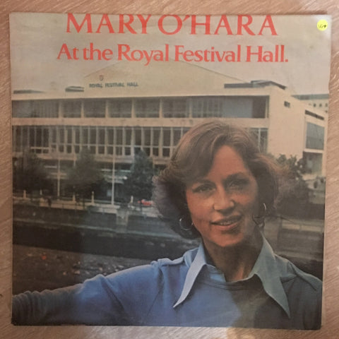 Mary O'Hara ‎– At The Royal Festival Hall - Vinyl LP Record  - Opened  - Very-Good+ Quality (VG+) - C-Plan Audio